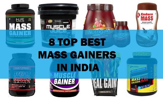 8 Best Weight/ Mass Gainer Supplements in India