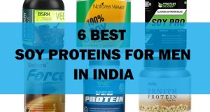6 Best Soy Protein Powders in India for Men with Price