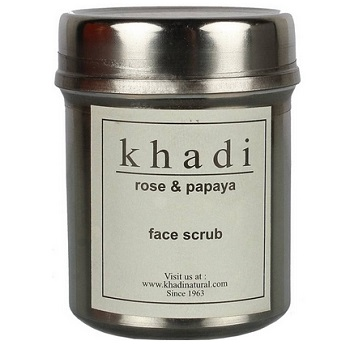 khadi 8 Top Best Anti Tan Facial Scrub for Men in India with Price