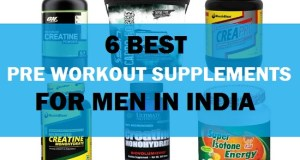 6 Top Best Pre and Post Workout Supplements in India