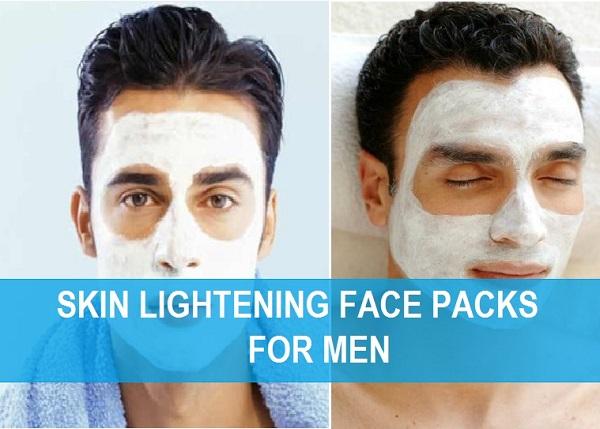 skin lightening face packs for men