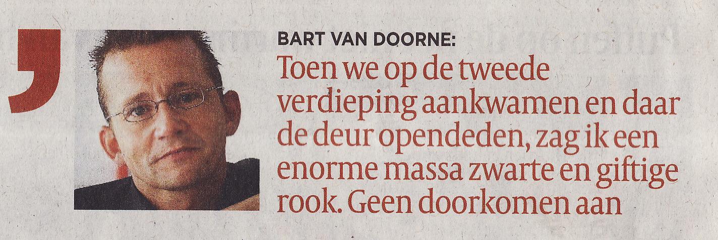 Bart Van Doorne, ervaringsdeskundige