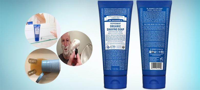 Dr. Bronner's - Organic Shaving Soap