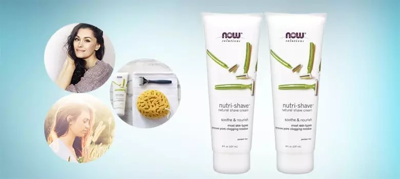 NOW Solutions, Nutri-Shave, Natural Shave Cream