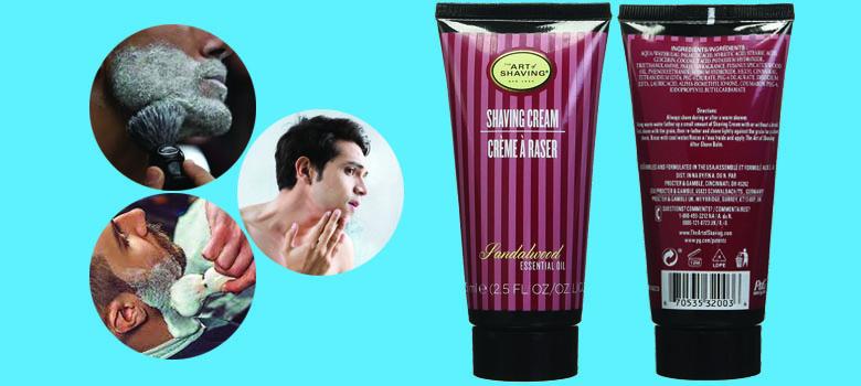 The Art of Shaving Cream Tube, Sandalwood