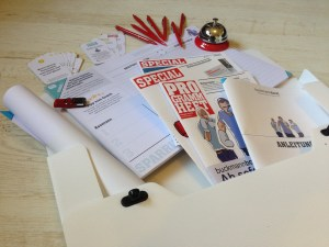 Abbildung der Buckmann Boxt Workshopbox für Employer Branding zum Selbermachen