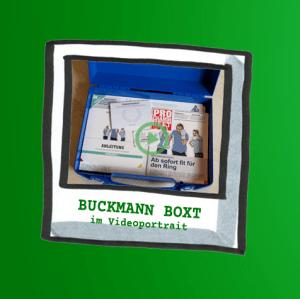 Illustriertes Polaroid mit einem Buckmann Boxt Workshopkoffer