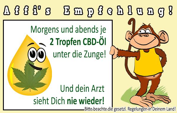Affi empfiehlt - CDB Tropfen