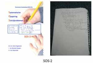 SOS-2 schrijftest kinderoefentherapie