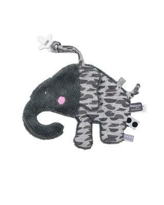 Snoozebaby Elly Elephant Frost Grey