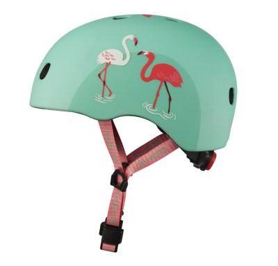 Micro Step Micro helm Deluxe - Flamingo S