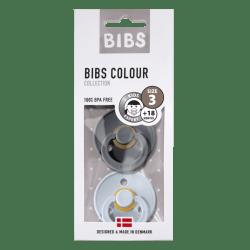 Bibs Maat 3- Baby Blue/Iron 2-pack