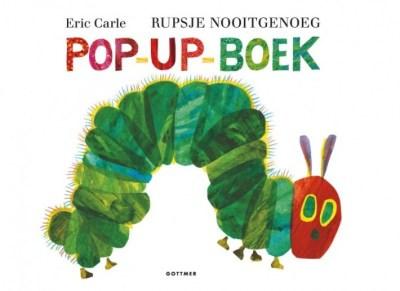 Pop up boek - Rupsje Nooitgenoeg