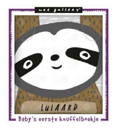 WG - Baby's eerste knuffelboekje Luiaard