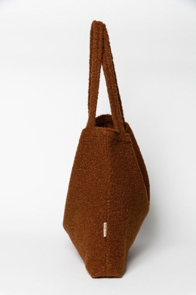 Studio Noos - Cacao Bouclé Mom-Bag