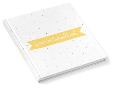 Kidooz Invulboek - Kraambezoekboek - Oker