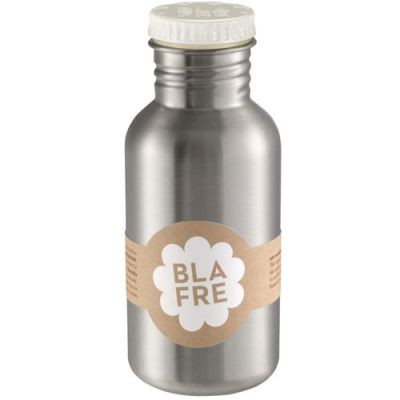 Blafre - Steel Bottle 500ml - Wit