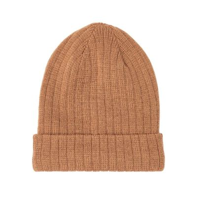 Lil'Atelier - Gerson Knit Hat - Tobacco Brown 48/49