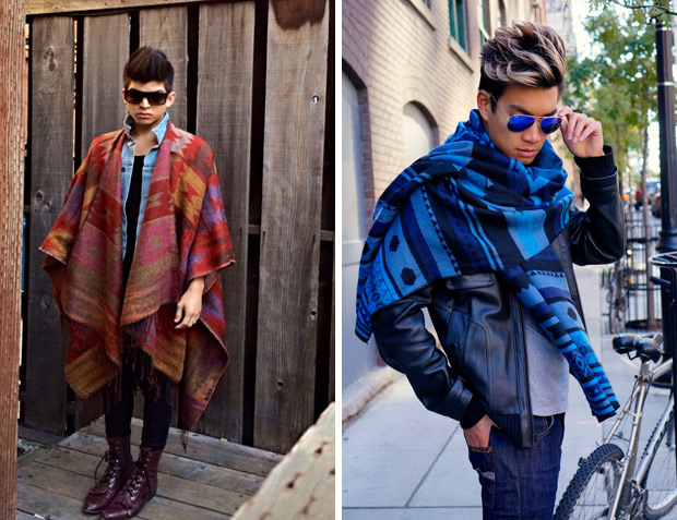How To Wear Blanket Scarves For Winter