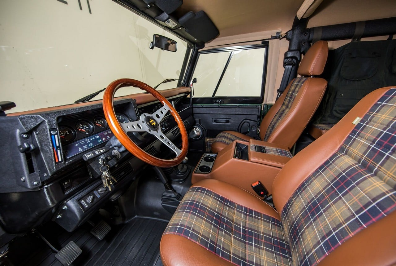 Project Barbour Land Rover Defender Giveaway Mens Gear