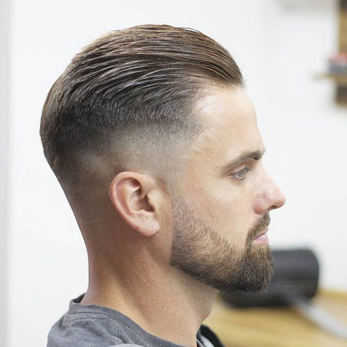 Slicked Back Undercut Hairstyles For Men With Class Men