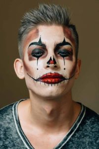 Halloween Makeup Ideas For Men That You Can Easly Copy