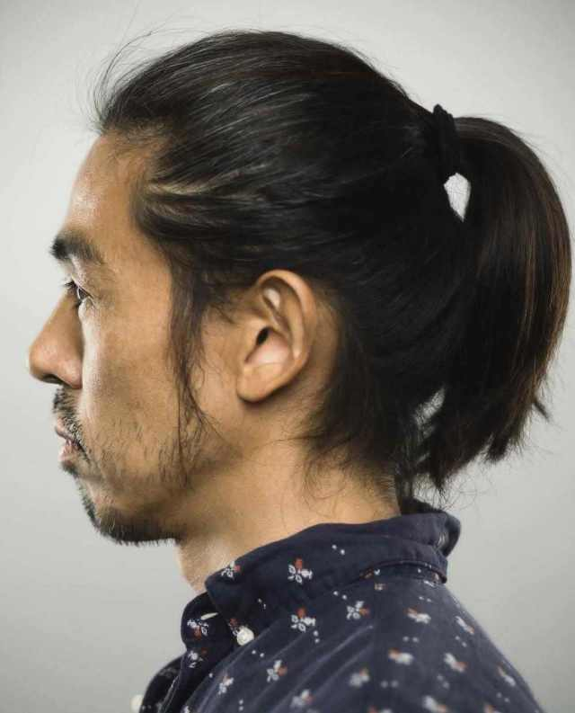 fantastic ponytail hairstyles for men 2018 - men's haircut