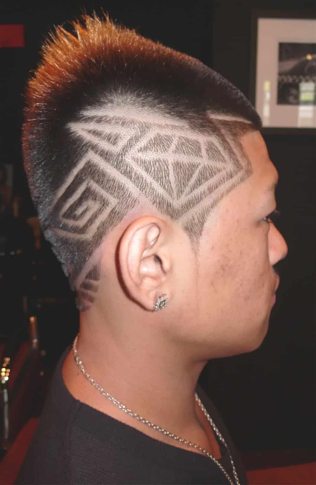 Back Haircut Lines Designs Novocom Top