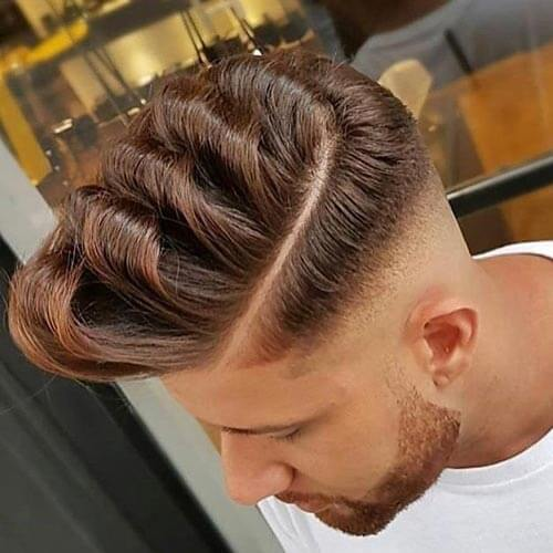 35 Pompadour Fade Haircuts Modern Styling Tips Amp Ideas