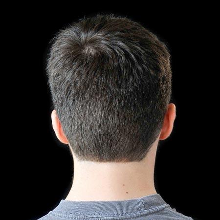men haircut back different wodip