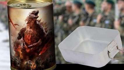 Godzilla returns: το top 10 των φαγητών στο στρατό