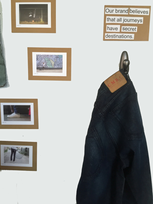 Charles Miller Brand Denim: Create your own unique story