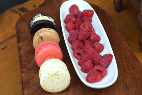 Macaroons at Blue Duck Tavern