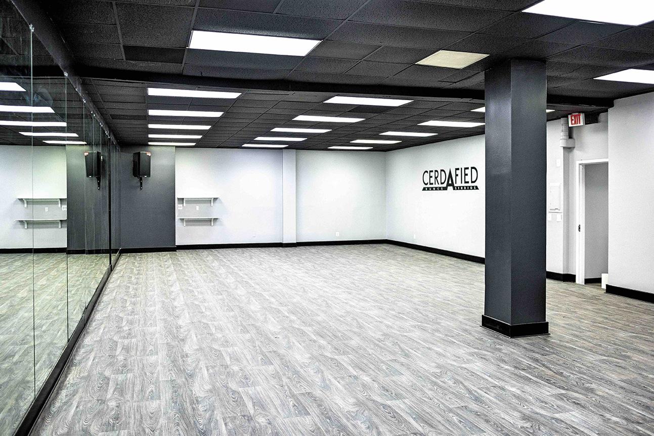 Cerdafied Dance Studios 'Studio A' copy