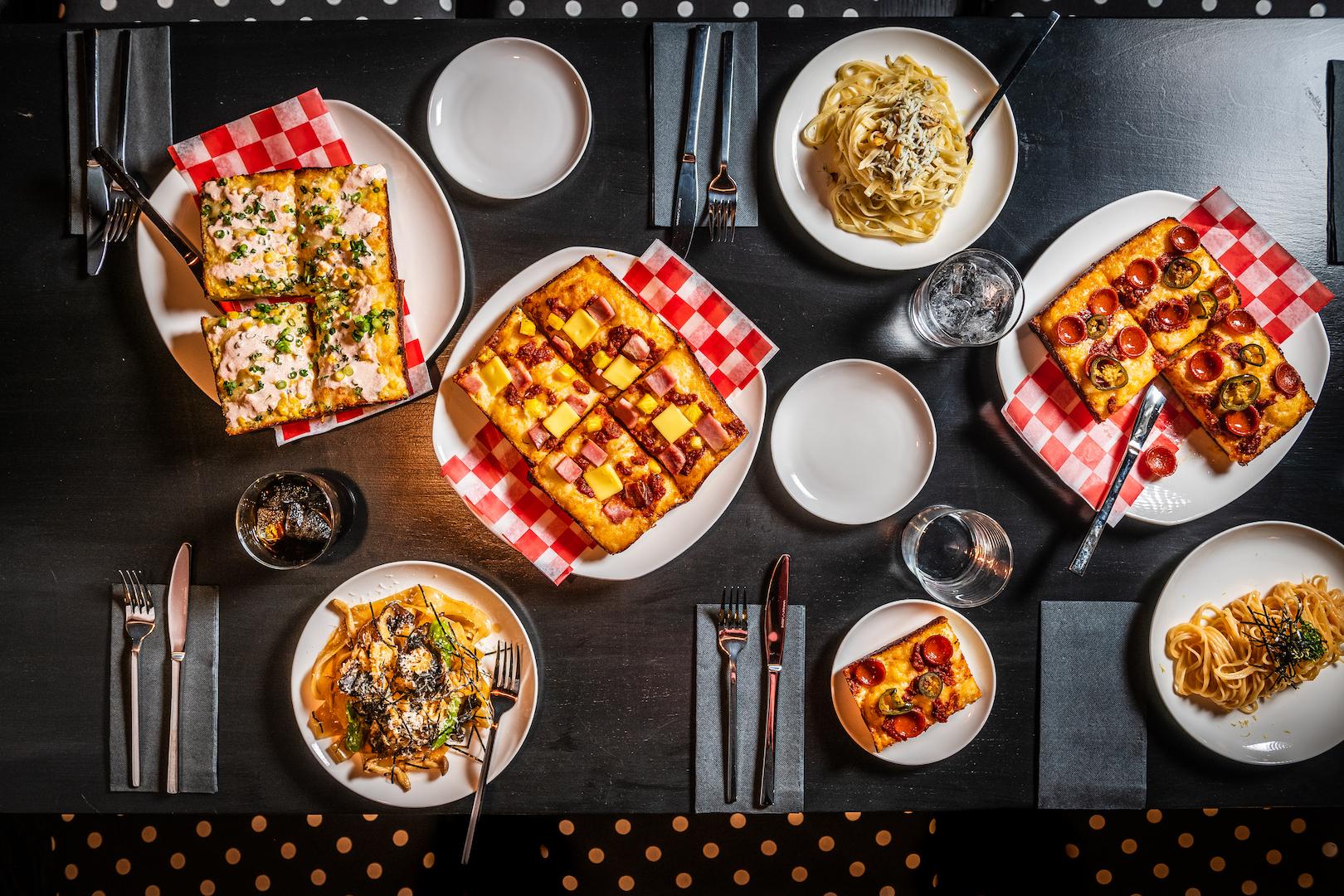 Tonari Pizza and Pasta Shot REY LOPEZ