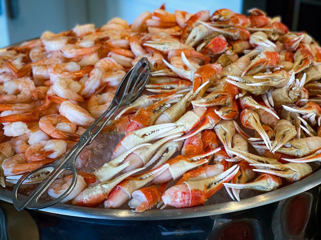 Seafood at Season Brunch