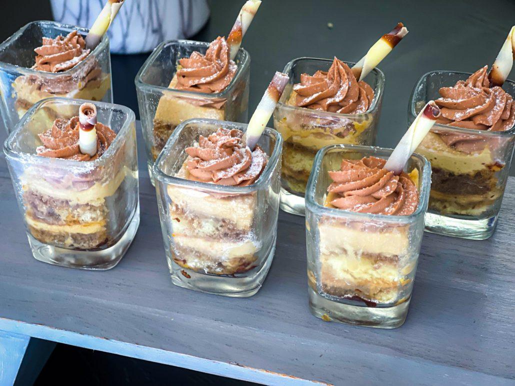 Desserts at Seasons Sunday Brunch