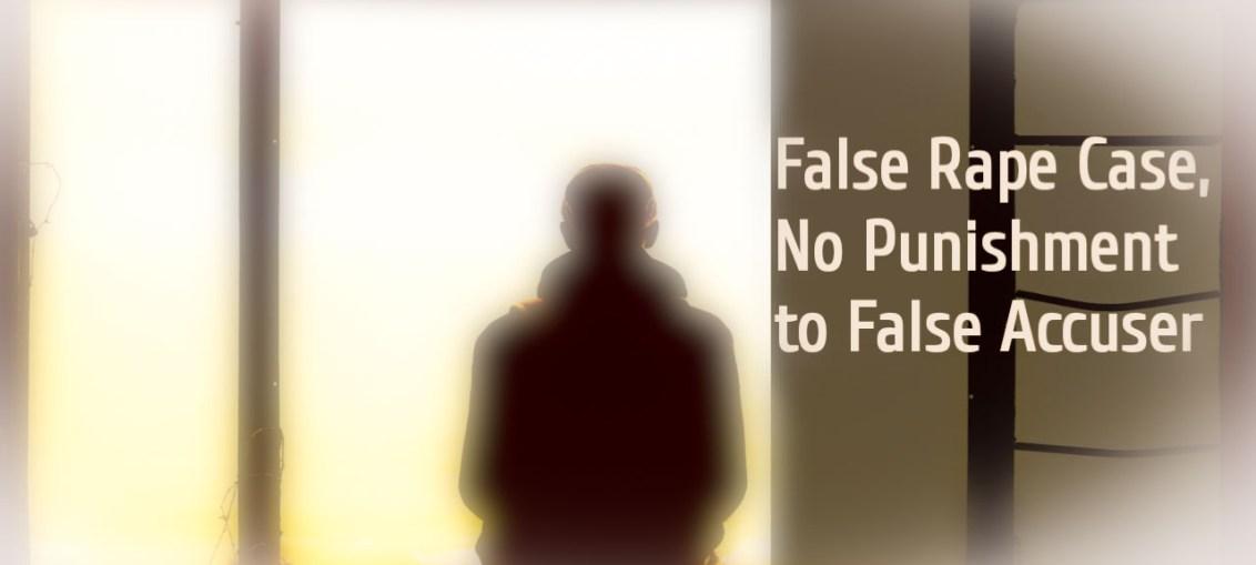 Men In False Rape Case