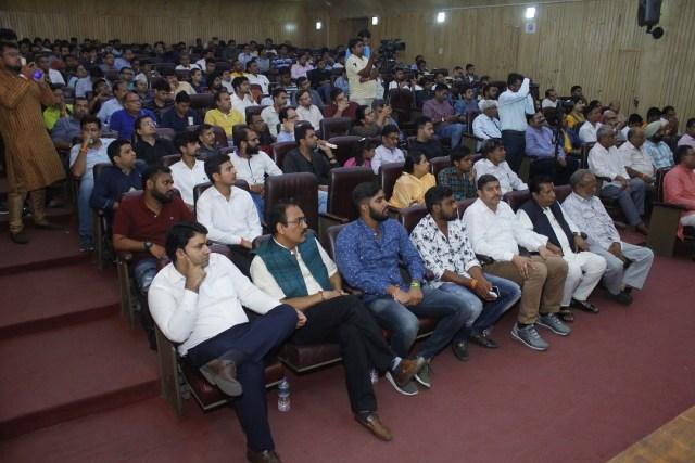 Audiance at Purusharth Mahotsav 2019