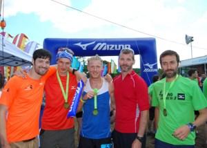 Team ProFeet: winners of the Teams 3-5 category