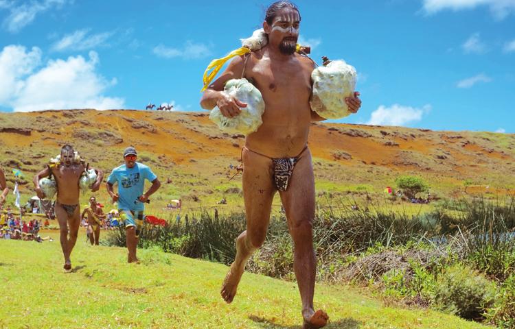 Rapa Nui runners