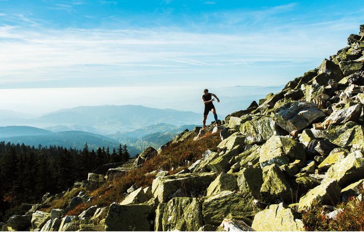 trail running race