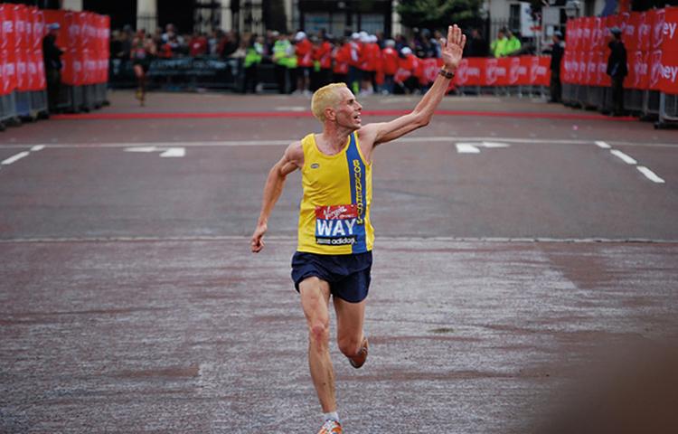 Steve Way London Marathon Men's Running UK