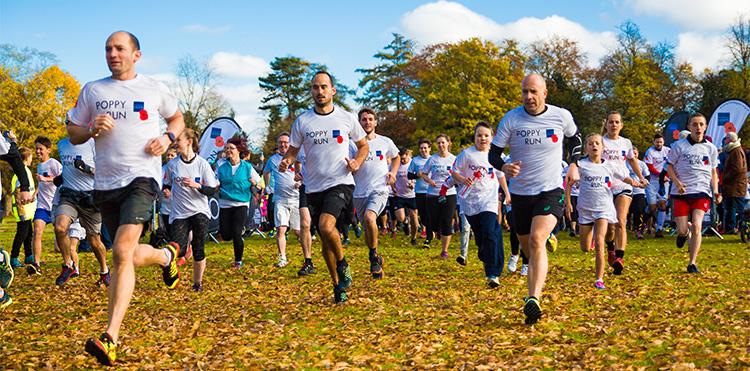 On your marks, get set... Poppy Run