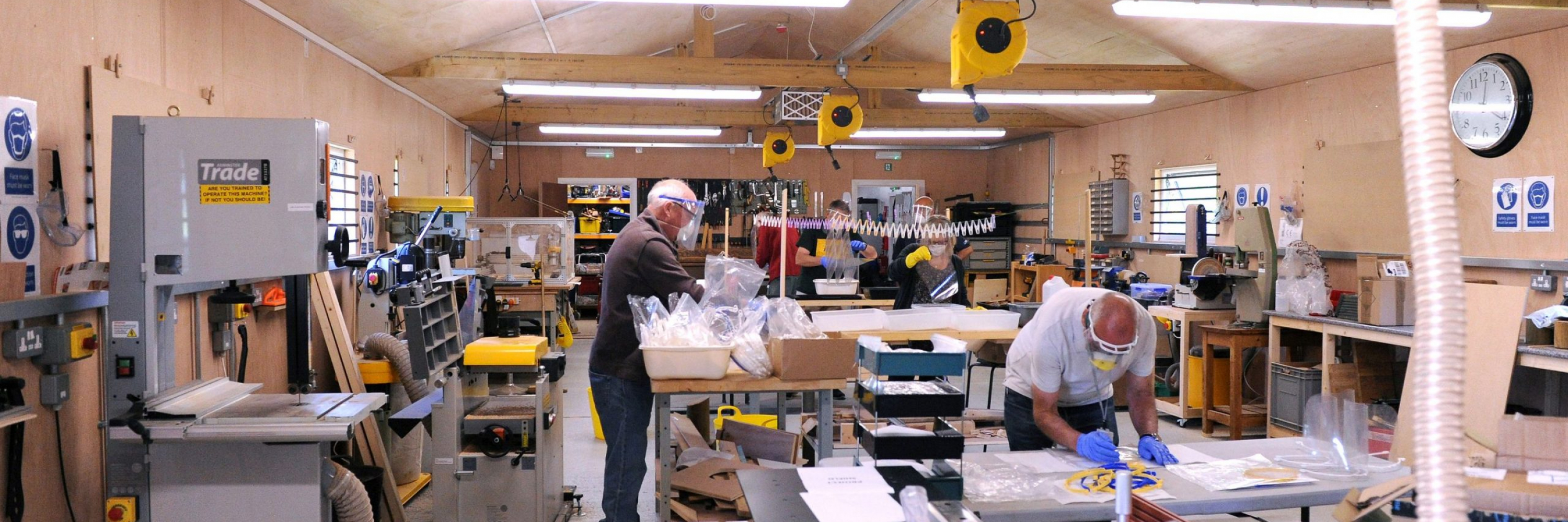 Project Shield Sees Local 3D Printers Making Face Protection PPE