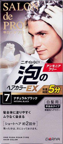サロンドプロ 泡のヘアカラーEX メンズスピーディ