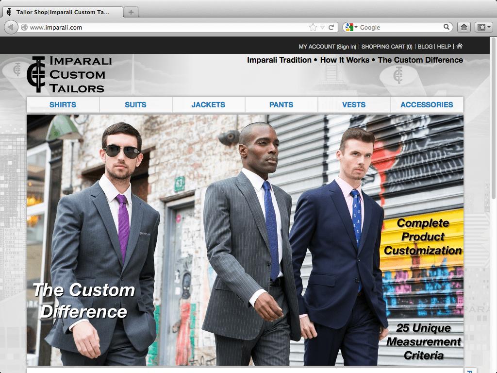 Imparali Custom Tailors on Men's Style Pro