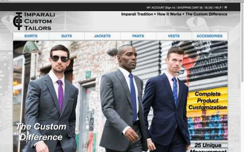 Imparali Custom Tailors on Men's Style Pro