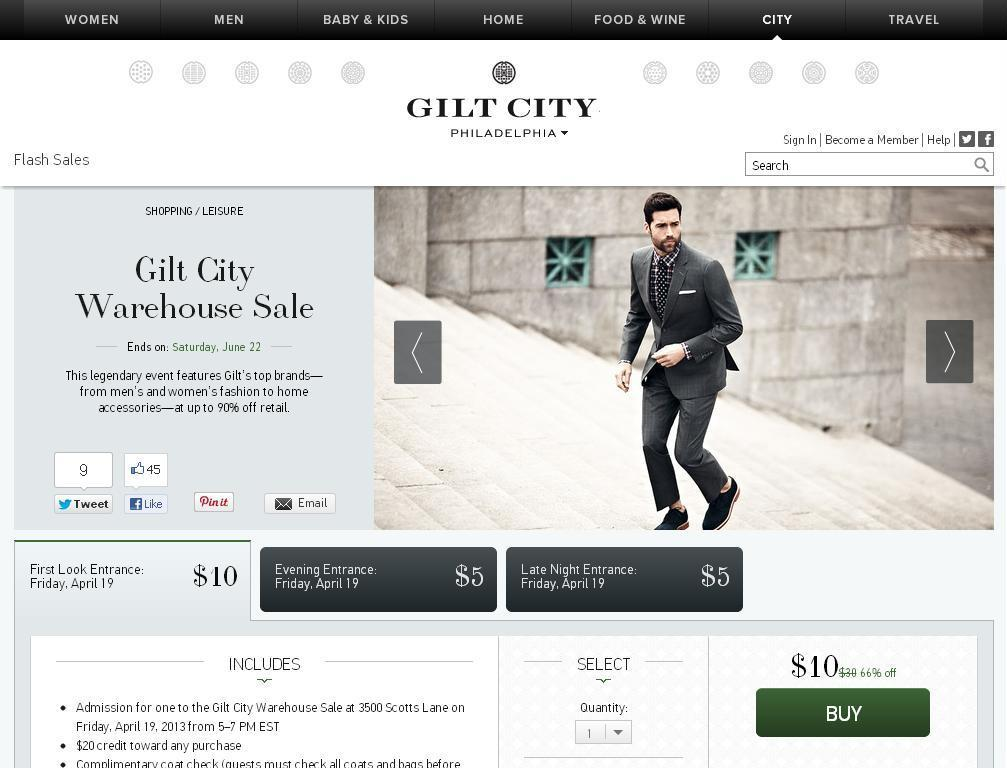 Gilt City Warehouse Sale Comes To Philly Men S Style Pro