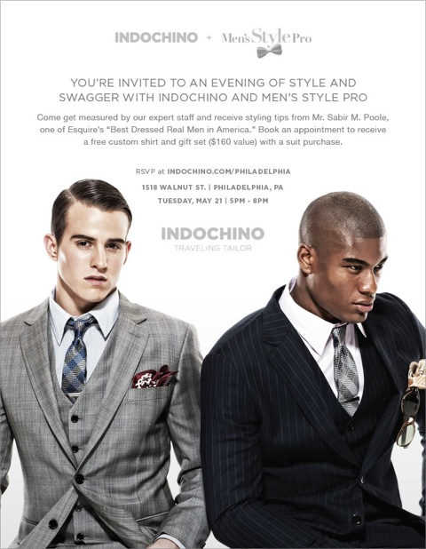 SuitUPPHI Indochino Men's Style Pro May 21st